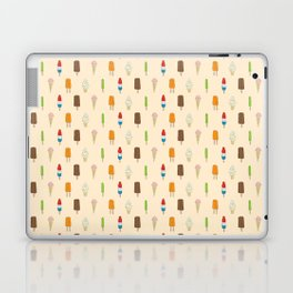 Ice Cream Pattern, Popsicles, Bomb Pops, Cones Laptop & iPad Skin