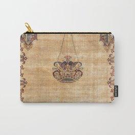 Tabriz  Antique North West Persian Silk Niche Rug Print Tasche