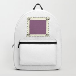 Squared Circle Pattern Handkerchief Backpack