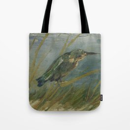 Kingfisher by the Waterside Tote Bag