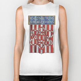 We hold these truths.. Biker Tank