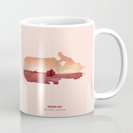 Speeder Sunset Coffee Mug