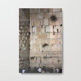 Jerusalem - The Western Wall - Kotel #3 Metal Print