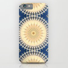 Gold Blue Mandala Medallions Slim Case iPhone 6s