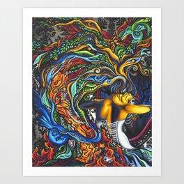 Arrow of God Art Print