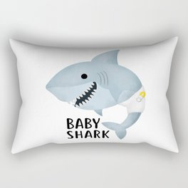 Baby Shark Rectangular Pillow