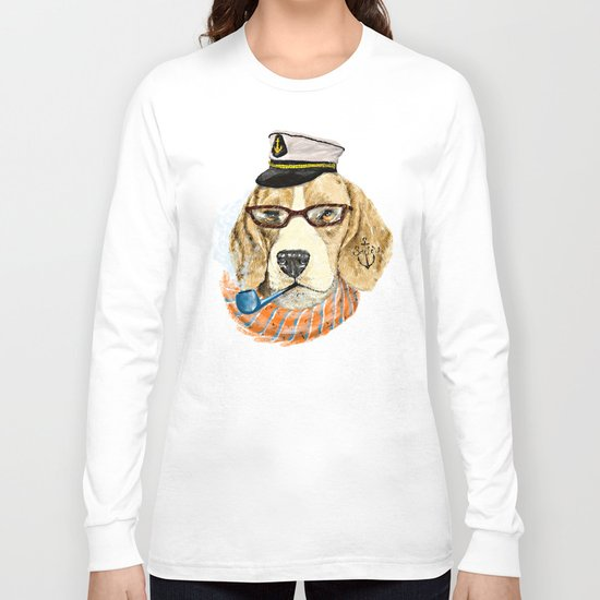 Mr.Beagle Long Sleeve T-shirt