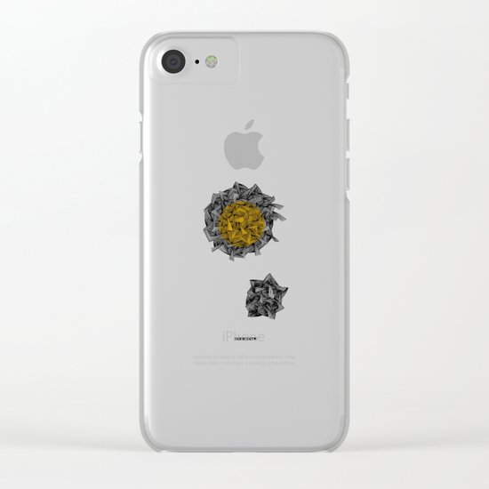 - cosmos_01 - Clear iPhone Case