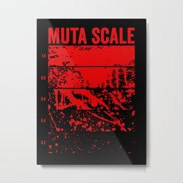 Muta Scale Metal Print