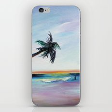 Be Back At Sunset iPhone & iPod Skin