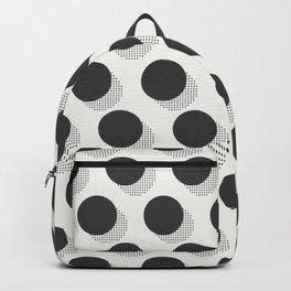 Kitschy Halftone Polka Dots Backpack