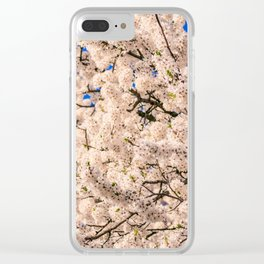 Blossom I Clear iPhone Case