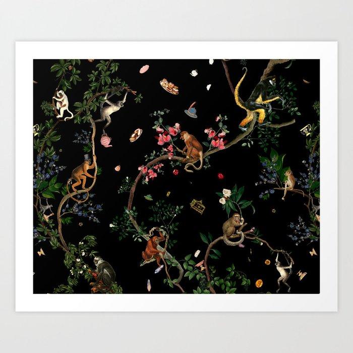 Monkey World Kunstdrucke
