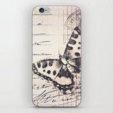 postal butterfly {b&w iPhone & iPod Skin