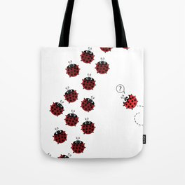 The path to Spring Tote Bag
