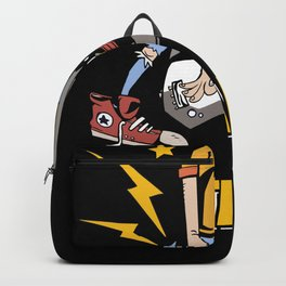 Guitarist Headless Funny Guitar Backpack