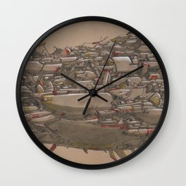 The Forevership Wall Clock