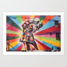New York Graffiti Art Print