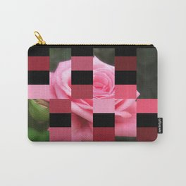 Pink Roses in Anzures 4 Art Rectangles 15 Carry-All Pouch