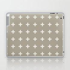 Plus Alabaster Blue Gray Laptop & iPad Skin