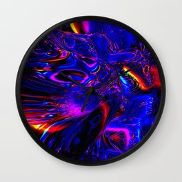 Psych Waves Wall Clock