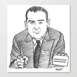 Sénateur Joseph Canvas Print