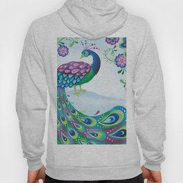 Flaunting It Peacock Hoody