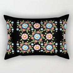 Millefiori Folkloric Pinwheel Rectangular Pillow