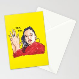 Rosalía TRA, TRA Stationery Cards