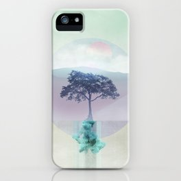 Lone Tree love 01 iPhone Case