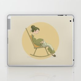 Round Laptop & iPad Skin