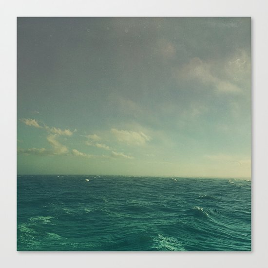 Limitless Sea Canvas Print