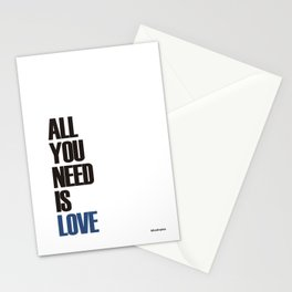 allyouneedislove Stationery Cards
