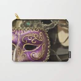 Mardi Gras Masks Carry-All Pouch