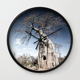 Baobab Tree Wall Clock