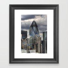 Gherkin Framed Art Print