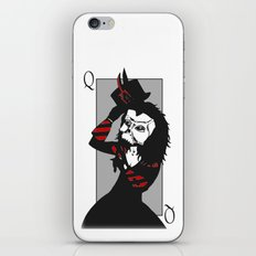 Courting the Crimson Queen  iPhone & iPod Skin