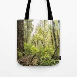 Schrader Old Growth Forest Tote Bag