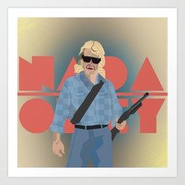 "Carpenter Series: Nada ""They Live"" Art Print"