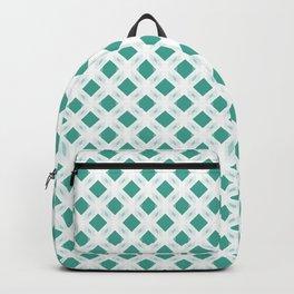 Retro-Delight - Diamond Division - Teal (Invert) Backpack