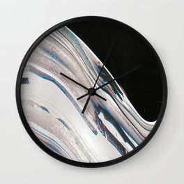 Space Time Blur Wall Clock