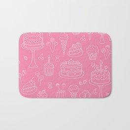 Pink Dessert Bath Mat