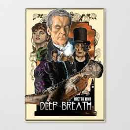 Doctor Who: Deep Breath Canvas Print