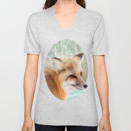Spirit Fox Unisex V-Neck