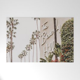 The Beverly Hills Hotel / Los Angeles, California Welcome Mat