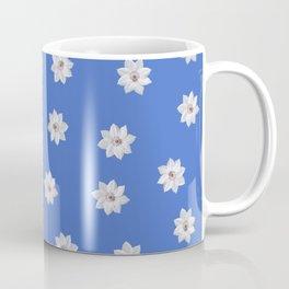 Blue and White Flowers Coffee Mug
