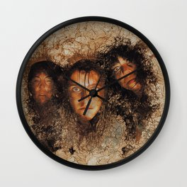 Witches of Macbeth Wall Clock