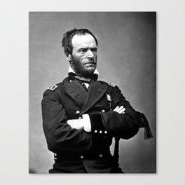 General William Tecumseh Sherman Canvas Print