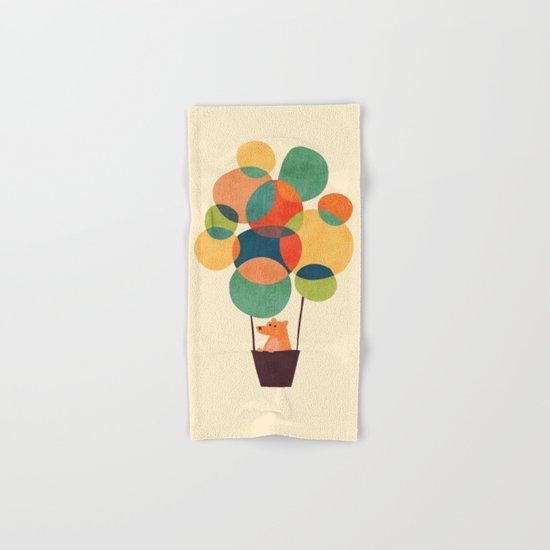 Whimsical Hot Air Balloon Hand & Bath Towel