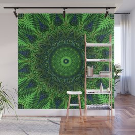 Green and Serene Wall Mural